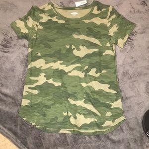 camo girls t shirt
